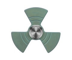 "FURA ""Fan shaped"" TC4 Titanium Alloy Fidget Spinner Green"