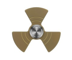 "FURA ""Fan shaped"" TC4 Titanium Alloy Fidget Spinner Golden"