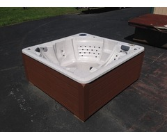 Hot Tub custom made in USA in PA by direct and Save