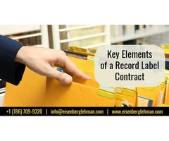 Entertainment Lawyers Miami and Record Label Contract Attorney Miami