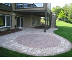 Pavers. Add charm to your home by installing paving stones