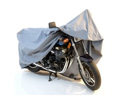 Motorcycle Motor Bike Outdoor Cover Waterproof Size L
