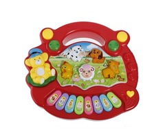Baby Kids Animal Farm Keyboard Electrical Piano Child Musical Toy