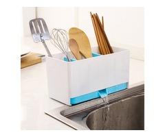 Detachable Multifunctional Kitchen Accessories Drain Chopsticks Cabinet Fork Knife Cutlery Organizer