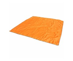 Naturehike 215 x 215cm 3-4 Person Tent Mat Oxford Tent Ground Cloth Shade Canopy with Pouch Orange
