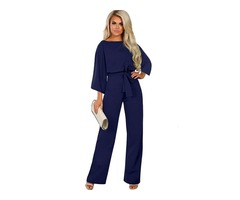 New promotion hot style ladies jumpsuit women long jumpsuits