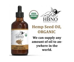 Shop Now! Organic Hemp Seed Oil Virgin, Unrefined from Essential Natural Oils