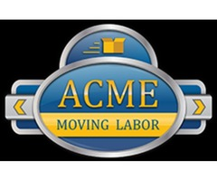 Moving Labor Help | ACME Moving Labor