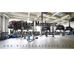 Find Trusted Automotive Repairs with Wicked Mechanic Maintenance Directory