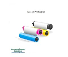 We provide custom screen printing services