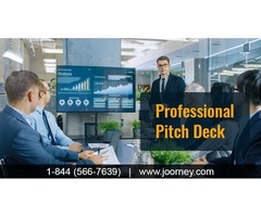 Professional Pitch Deck and Pitch Deck Services