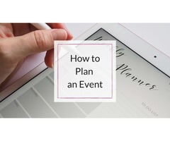 How to Plan an Event | WeInvite