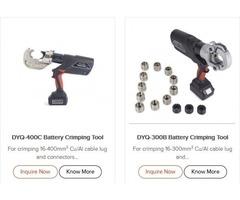 Cordless Crimping Tool Manufacturer- Duckcrimper