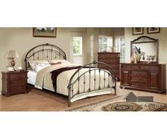 Get Carta Contemporary 5 Pieces Bedroom Set | Rainbow Best Deal