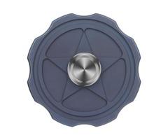 "Fidget Toy FURA ""Star"" Pattern TC4 Titanium Alloy Hand Spinner Dark Blue"