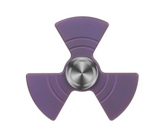 "FURA ""Fan shaped"" TC4 Titanium Alloy Fidget Spinner Purple"
