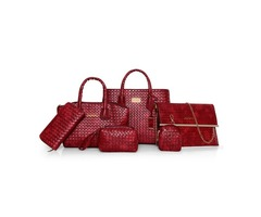 Distinctive Croco-Embossed Women Bag Sets