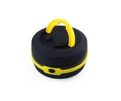 Foldable Mini LED Camping Lights Outdoor Waterproof Night Lighting Fishing Hiking Lamp Yellow