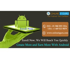 Android Online Training By Real Time Experts