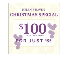 Helen's Haven Christmas Gift Card Special Offer