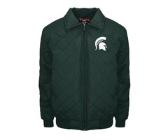 NCAA Michigan State Spartans Clima Full Zip Jacket