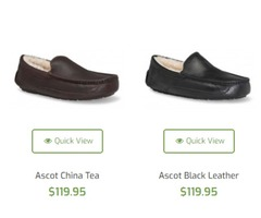 Shop Trendy UGG Men's Shoes & Slippers on Feet for Life at Best Prices