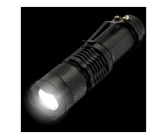 The #1 Tactical Flashlight With Zoom - Yours FREE