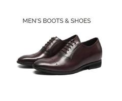 Designer Handmade Mens Leather Boots