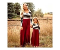 Mom and Daughter Matching Dresses - Miabellebaby