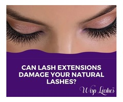 Can Eyelash Extensions Damage Your Natural Lashes?