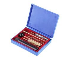 Kaload 6pcs/set G102 Hunting Shotgun Cleaning Brush Kit Brush Mop Storage Handle