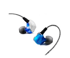 F800 Portable Wired Control In-ear Earphone 3.5mm Jack HIFI Stereo Waterproof Dual Unit With Mic