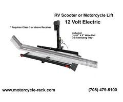 RV Motorcycle Lift