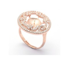 Panda Hall Rose Gold Ring!!
