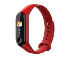 """XANES M3B 0.96"""" TFT Color Screen IP67 Waterproof Smart Bracelet Pedometer Heart Rate Blood Pressure"""