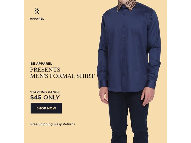 Be Apparel Men's Clothing Store Online in USA | free-classifieds-usa.com