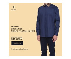 Be Apparel Men's Clothing Store Online in USA