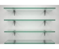 Tempered Glass Shelving: Space-Efficient and Versatile Addition to Homes and Retail Stores