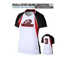 Zeeni makes softball shirts, apparel and uniforms for softball American teams