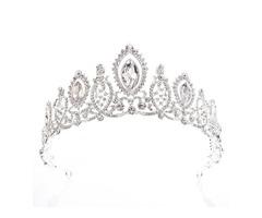 European Tiara Crown Hair Accessories (Wedding)