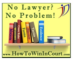How to win in court without a lawyer