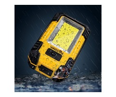 30W 21 LED COB Rechargeable Portable Lantern Camping Tent Work Light with Hook Magnet Emergency Lamp