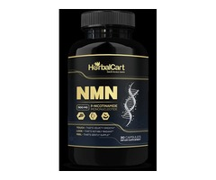 NMN Supplement 500mg Pure Nicotinamide Mononucleotide - HerbalCart