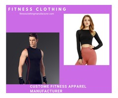 Looking Custom Fitness Clothing For Your Inventory - Visit Fitness Clothing Now!