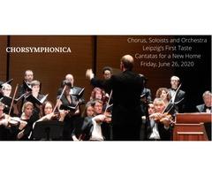 UPCOMING CONCERT | Leipzig's 1st Taste - Chorsymphonica