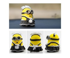 Minion Maid Phil Model Ultralight 3D Colored Modeling Clay DIY Intelligence Toy