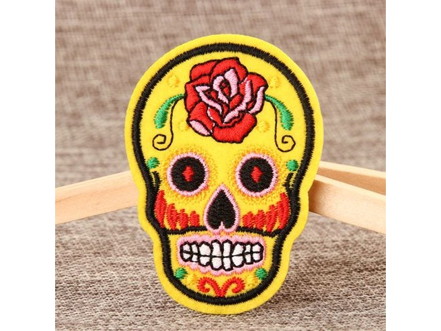 Skeleton Embroidered Patches No Minimum | free-classifieds-usa.com
