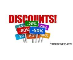 Amazing deals at PrestigeCoupon.com