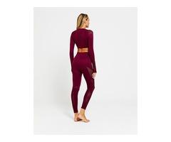 High Quality Long Sleeve Seamless Gym Wear Two Piece Yoga Set For Women | free-classifieds-usa.com