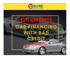 AfterBK Is The Solution For Car Financing With Bad Credit